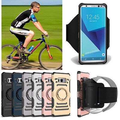 Running Sport Armband Arm Belt Case Bag Holder Cover For Samsung S8 Plus S7 Edge