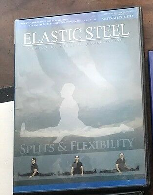 Elastic Steel DVD Splits And Flexibility For Tae Kwon Do Martial Arts