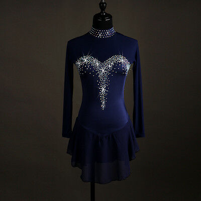 New Women Figure Ice Skating Dance Competition - Apparel - Crystal Custom Girls