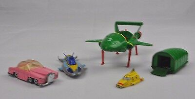 Vintage Thunderbirds Toy Bundle Lot Pack - 2 3 4 Stingray Fab 1 Matchbox