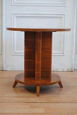 Fab Antique Art Deco Oak Side Occasional Table