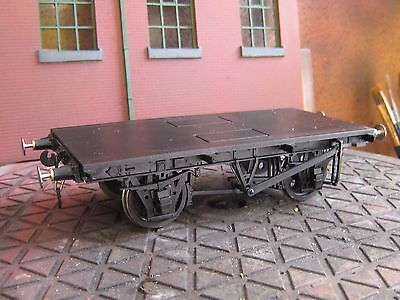 Peco O Gauge  R0-8 BR 9ft Steel Type Chassis Wagon Kit  - Assembled