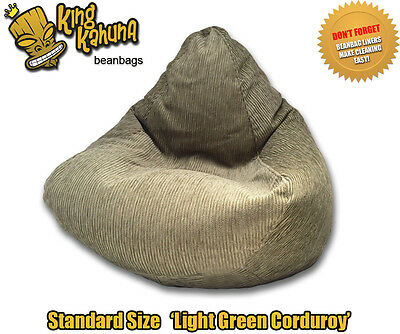 Green Beanbag Chair Quality New Large Lounge Soft Gaming Cinema Theatre