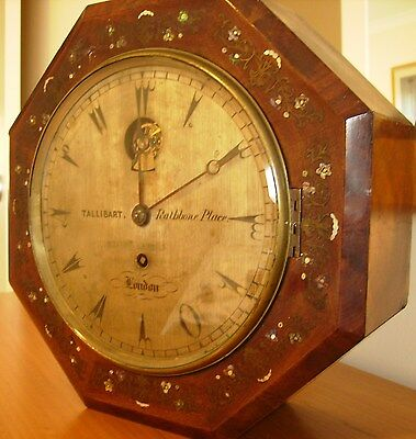 Antique Clock Tallibart of London - Rare Collectors Item from 1850's