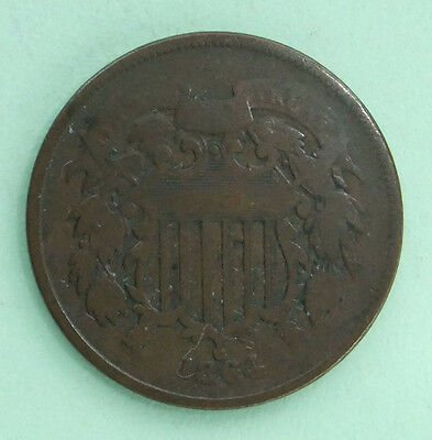 Usa  -  Two  Cent  Coin