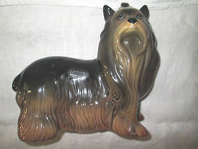 Figurine Chien Ceramique Coopernic Craft Dog  Vintage Porcelain H.18Cm