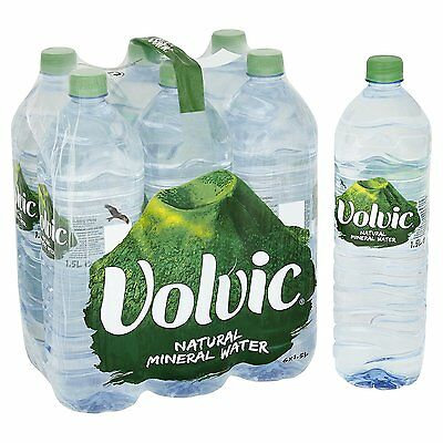 **** Volvic Natural Mineral Water 24 x 1.5L