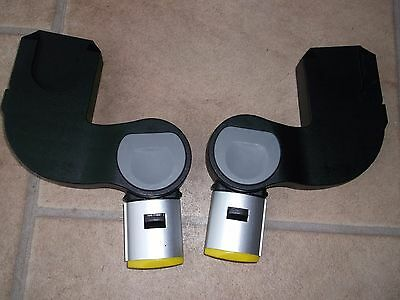 Icandy Apple Pear Yellow Lower  Adapters For Car Seat