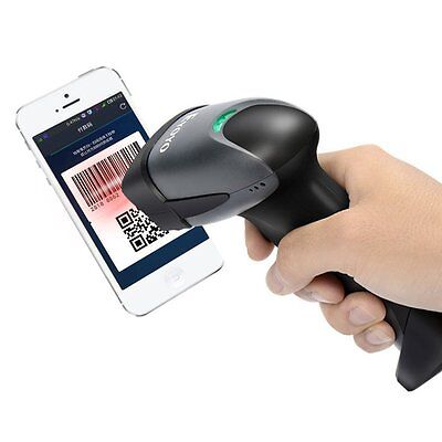 QR Barcode Scanner Eyoyo EY-001 Wired Handheld 1D 2D USB CCD Barcode Reader, NEW