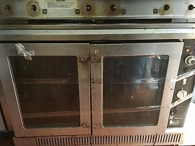 Falcon Dominator Commercial Gas Oven Six Ring Burner Range