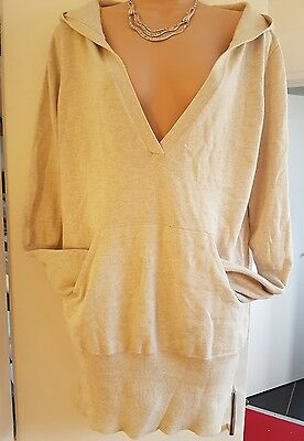 jumper dress size 16 hooded new look