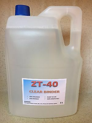 ZT-40 Clear Binder - Compatible with Zcorp / 3D Systems / ProJet 3D Printer - 5L