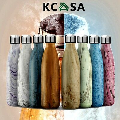 KCASA Portable Vacuum Cup Double Wall Thermos Hot&Cold Water Insulation Bottle