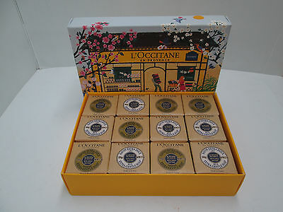 """ L'OCCITANE "" LUXURY GUEST COLLECTION SOAP 12 X 50gr - BURRO DI KARITE'"