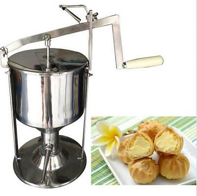 Manual Donut Filler Jelly Fill Filling Cream Filled 5L Kitchen Tool Cooking  t