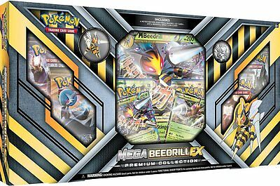 Pokemon TCG Mega Beedrill EX Premium Collection Box - Brand New and Sealed