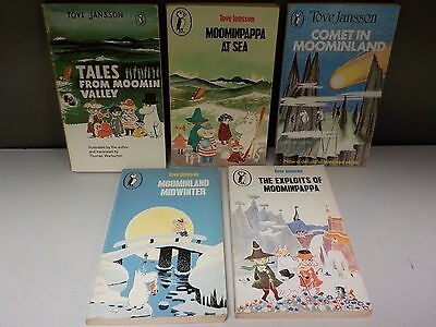 Tove Jansson - 'Moomins' Series (Puffin) - 5 Books Collection! (ID:47990)