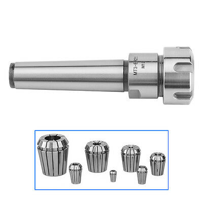 ER25 MT3 M12 Collet Chuck Holder Fixed CNC Millling NEW Carbon Steel Rod