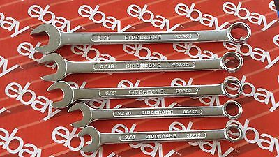 Sidchrome Made In Australia 22 Series Combination Spanners Old Tools