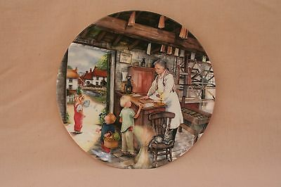 ROYAL DOULTON Old Country Crafts collectors Plate THE CANDLE MAKER by Susan Neal