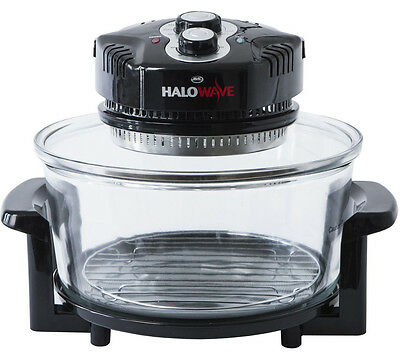 JML Halowave Halogen Oven - Black boxed 10.5 litres