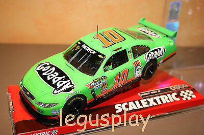 Slot SCX Scalextric A10146S300 Chevrolet Impala SS N#10 Go Daddy - New