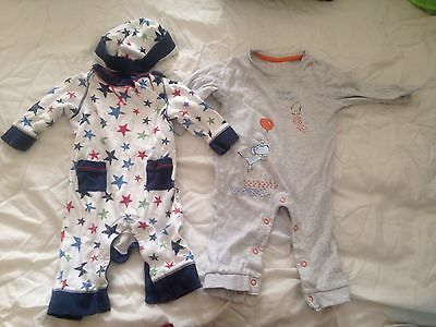 Baby Boy 0-3 Month Sleepsuit Bundle