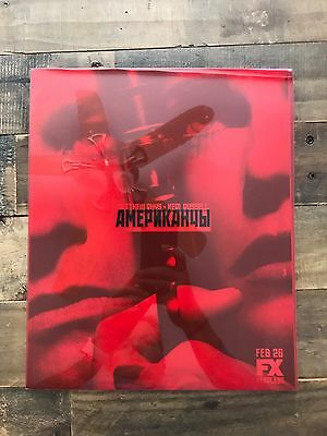 THE AMERICANS  Season 2 PRESS KIT BOOK RARE