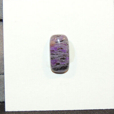 Sugilite Cabochon 7x13.5mm with 5mm dome (12505)
