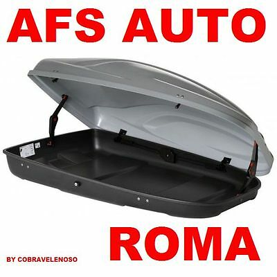 Box Baule Afs Auto Portapacchi Portasnow G3 All Time 400 Lt Made In Italy