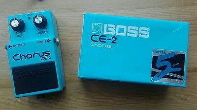 Boss CE2 1988 Chorus guitar effects pedal Vintage