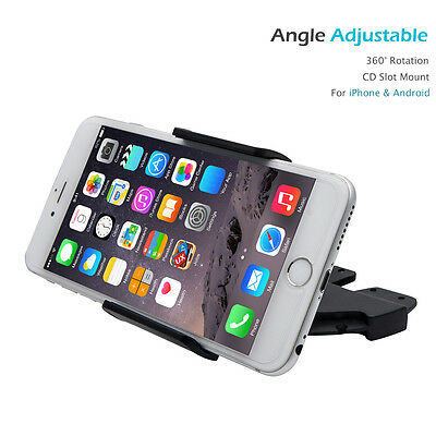 Universal Car CD Slot Holder Stand Cradle Mount for iPhone GPS Mobile Cell Phone