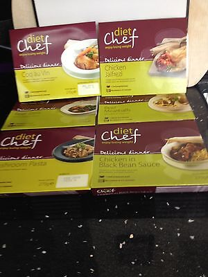 Six Diet Chef Meals free postage