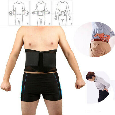 Magnetic Back Support 20 Pain Relief Magnets Lower Lumbar Brace Belt Strap