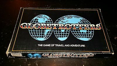 Vintage GLOBETROTTERS board game parker brothers