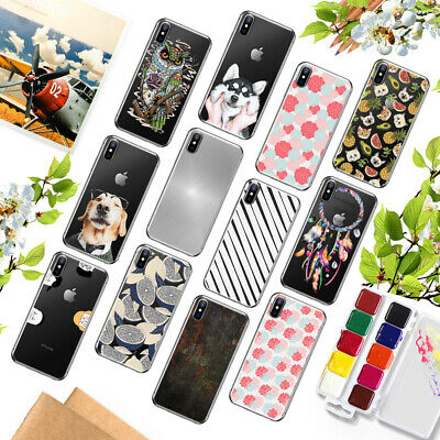 Shockproof Pattern TPU Etui Housse Coque Case Cover For iPhone 5 SE 6 6s 7 PLUS