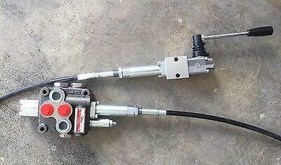 Hydraulic Flow Control Valve 1 Spool  Hand Control cable   TIPPER TRUCKS MACHINE