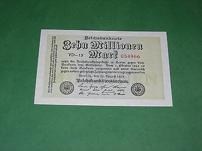 Germany 10000000 Mark 1923 Banknote Uncirculated