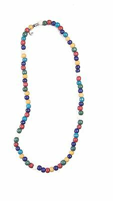 Bulk lot x 12 - multi colour coco bead necklaces