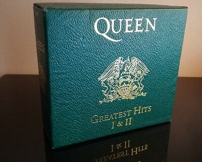 Queen Greatest Hits I&II Limited Boxes RARE