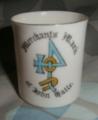 goss 38mm cup merchat mark of john halle