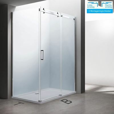 Sliding Shower Enclosure Door NANO 8mm Easyclean Tall Thick Glass Safety