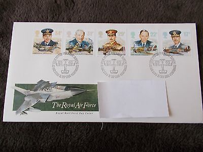 GB First Day Cover 1986 The Royal Air Force Eastleigh Special Pmk