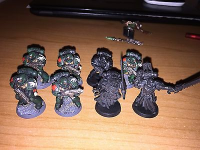 Warhammer 40K - 8 Dark Angels Space Marine