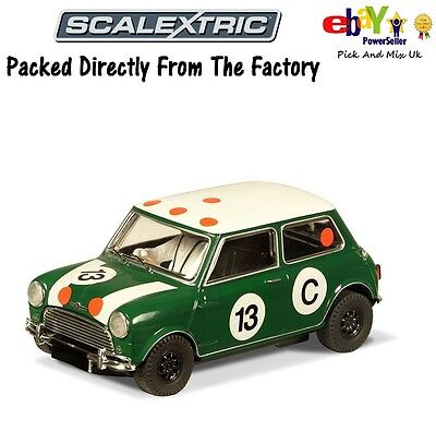 NEW Scalextric Slot Car Morris Mini Bob Holden C3302