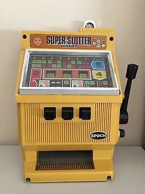 Collectable Vintage EPOCH Toy Slot Machine Made In Japan (broken)