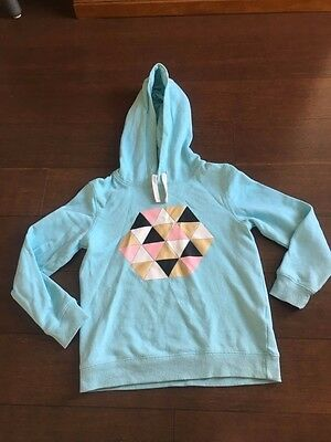 Girls hooded fleece size 10