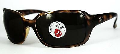 Ray Ban Sonnenbrille / Sunglasses RB4068 642/57 60[]17 130 3P + Etui