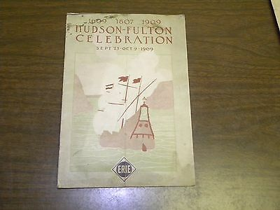 1909 Erie Hudson Fulton Celebration Program