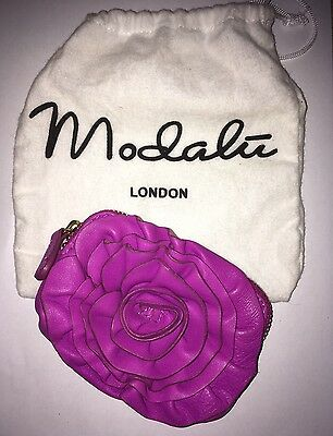 New Modalu London Genuine Soft Leather Coin Purse